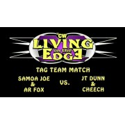 """2CW April 4, 2015 """" Living on the Edge X- Night 1"""" - Watertown, NY (Download)"""