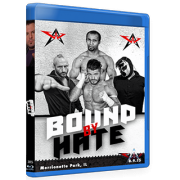 "AAW Blu-ray/DVD August 9, 2015 ""Bound By Hate"" - Merrionette Park, IL"