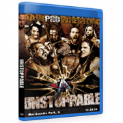 "AAW Blu-ray/DVD December 30, 2016 ""Unstoppable"" - Merrionette Park, IL"