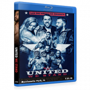 "AAW Blu-ray/DVD July 21, 2018 ""United We Stand"" - Merionette Park, IL"