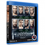 "AAW Blu-ray/DVD September 28, 2018 ""Jim Lynam Memorial Tournament Night 1"" Chicago, IL"