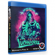 "AAW Blu-ray/DVD October 26, 2018 ""Dia De Los Luchadores"" Merionette Park, IL"