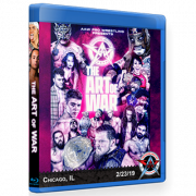 "AAW Blu-ray/DVD February 23, 2019 ""The Art of War"" - Chicago, IL"