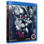 "AAW Blu-ray/DVD March 16, 2019 """"Hell Hath No Fury"" - Chicago, IL"