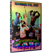 "ACW DVD November 7, 2015 ""Fun Fun Fun Fest 2015 - Day 2"" - Austin, TX"