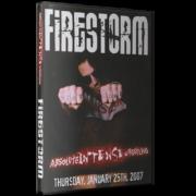 """AIW DVD January 25, 2007 """"Firestorm"""" - Mentor, OH"""