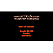 """AIW December 15, 2008 """"Night of Intensity"""" - Cleveland, OH (Download)"""