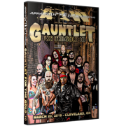 "AIW DVD March 20, 2015 ""Gauntlet for the Gold 10"" - Cleveland, OH"