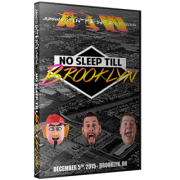 "AIW DVD December 5, 2015 ""No Sleep till Brooklyn"" - Brooklyn, OH"