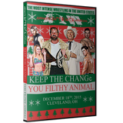 "AIW DVD December 18, 2015 ""Keep the Change, You Filthy Animal"" - Cleveland, OH"