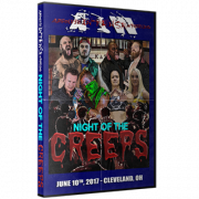 "AIW June 10, 2017 DVD ""Night of the Creeps"" - Mentor-on-the-Lake, OH"