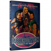 "AIW DVD November 3, 2018 ""November 3, 2018 ""Rubber City Con"" - Akron, OH"