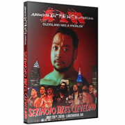 "AIW DVD July 25, 2019 ""Sekimoto Takes Cleveland"" - Lakewood, OH"
