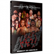 "AIW DVD November 29, 2019 ""Hell on Earth 15"" - Cleveland, OH"