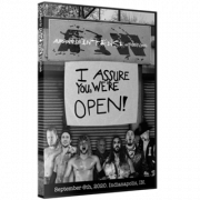 "AIW DVD September 6, 2020 ""I Assure You We're Open!"" - Indianapolis, IN"