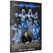 "AIW DVD July 30, 2021 ""Chandler Biggins Memorial Tournament"" - Cleveland, OH"