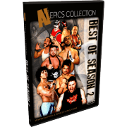 "Alpha-1 Wrestling DVD ""Best Of Season 2"""