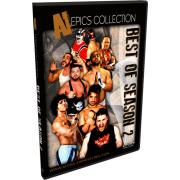 "Alpha-1 Wrestling DVD ""Best Of Season 2"""