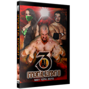 "Alpha-1 Wrestling DVD May 10, 2015 ""Immortal Kombat III"" - Hamilton, ON"