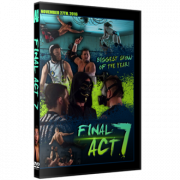 "Alpha-1 Wrestling DVD November 27, 2016 ""Final Act 7"" - Hamilton, ON"