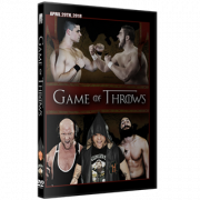 "Alpha-1 Wrestling DVD April 29, 2018 ""Game Of Throws"" - Oshawa, ON"