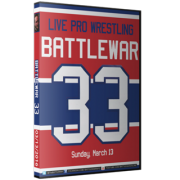 "BattleWar DVD March 13, 2016 ""33"" - Montreal, QC"