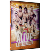 "Beyond Wrestling DVD November 29, 2014 ""Alive and Kicking"" - Providence, RI"