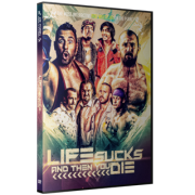"Beyond Wrestling DVD June 28, 2015 ""Life Sucks and Then You Die"" - Providence, RI"