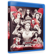 "Women's Wrestling Revolution Blu-ray/DVD April 10, 2016 ""Project XX"" - Providence, RI"