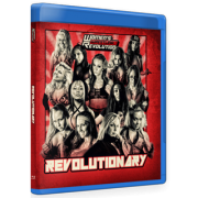 "Women's Wrestling Revolution Blu-ray/DVD July 31, 2016 ""Revolutionary"" - Providence, RI"