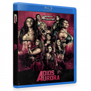 "Womens' Wrestling Revolution Blu-ray/DVD October 8, 2017 ""Adios Aurora"" - Providence, RI"