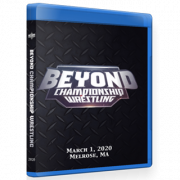 "Beyond Wrestling Blu-ray/DVD March 1, 2020 ""Beyond Championship Wrestling"" - Melrose, MA"