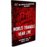 "BJW DVD December 30, 2012 ""World Triangle Near Live"" - Tokyo, Japan"