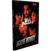 """BJW DVD March 25, 2012 """"Death Market 8"""" - Nagoya, Japan"""