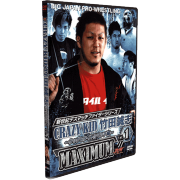 "BJW DVD ""Best of Masashi Takeda - Crazy Kid Maximum Vol. 1"""