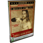 "Chris Hero DVD ""Interviews With A Hero: The Chris Hero Story"""