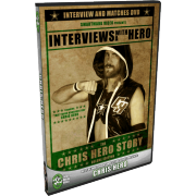 "Chris Hero DVD ""Interviews With A Hero: The Chris Hero Story"" Deluxe Edition"