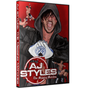 "AJ Styles DVD ""AJ Styles: The Missing Matches"""