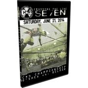 """C*4 Wrestling DVD June 21, 2014 """"Crossing the Line Se7en"""" - Ottawa, ON"""