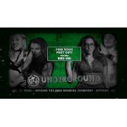 "C*4 Wrestling January 31, 2020 ""Underground v5"" - Ottawa, ON (Download)"