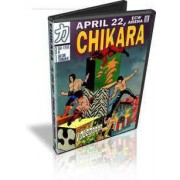 "Chikara DVD April 22, 2007 ""Rey de Voladores"" - Philadelphia, PA"