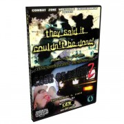 """CZW DVD June 25, 2000 """"They Said It Couldn't Be Done"""" & September 9, 2000 """"Cage Of Death II: After Dark"""" - Sewell, NJ"""