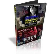 """CZW DVD February 10, 2001 """"Crushing the Competition"""" & April 7, 2001 """"The Boss is Back"""" - Sewell, NJ"""