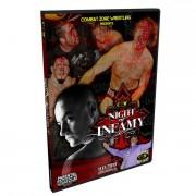 "CZW DVD November 13, 2010 ""Night Of Infamy 9"" - Philadelphia, PA"