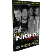 "CZW DVD November 2, 2013 ""Night of Infamy 12"" - Voorhees, NJ"