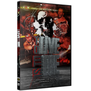 "CZW DVD January 10, 2015 ""To Live Is To Die"" - Voorhees, NJ"