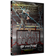 "CZW DVD November 21, 2015 ""Night of Infamy"" - Voorhees, NJ"