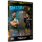 "CZW DVD January 16, 2016 ""Smash vs. CZW"" - Toronto, ON"