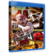 "CZW Blu-ray/DVD June 11, 2016 ""Tournament of Death 15"" - Townsend, DE"