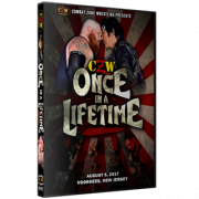 "CZW DVD August 5, 2017 ""Once in a Lifetime"" - Voorhees, NJ"
